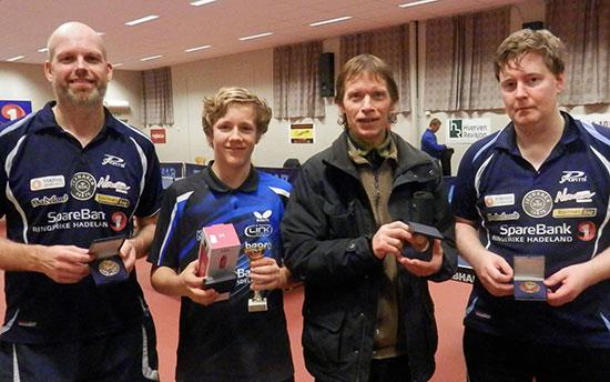 HERRER D: Bendik Alme (fra venstre), Markus Brunsæl, Bjørn E. Wibe og Lars Torp.