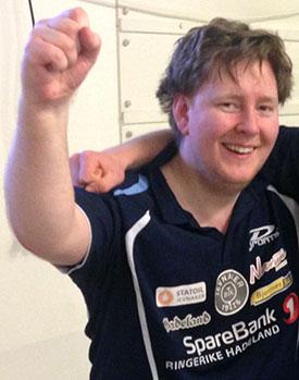 MATCHVINNER: Lars Torp fikk æren av å avgjøre oppgjøret på Hamar.