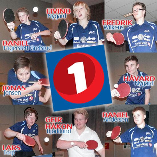 JBTK-TROPPEN: Åtte spillere tar turen til Geithus på lørdag.
