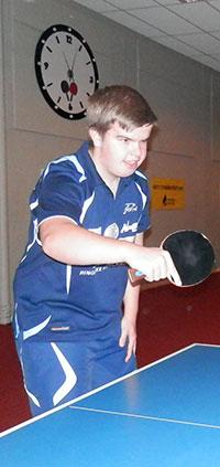RUTINERT: Thomas Moen var dagens mest rutinerte deltaker.