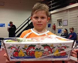 FAIR-PLAYER: Martin Jensen vant fruktkurven!