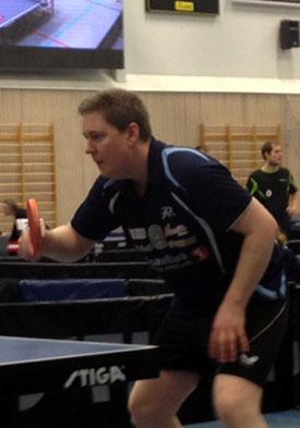 NESTEN: Lars Torp kunne ha vunnet Herrer D, men røk ut med 2-3 i kvartfinalen.