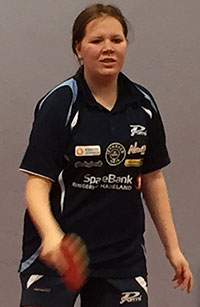 RANKINGDEBUT: Regine Ottersen Bergum spilte sine første tellende kamper i regionsmesterskapet og gikk i pluss!