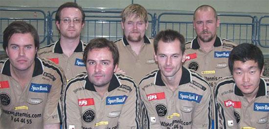 2003/04: JBTK-troppen til den første eliteseriehelgen i Modum.