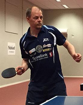 NÅDDE SLUTTSPILLET: Olof vant to av fire kamper i dag.