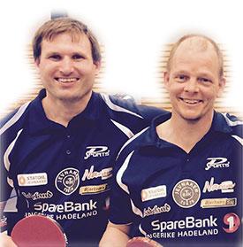 ELITEDUO: Terje Herting og Olof Götestam, begge med på JBTKs-gullag i veteran-NM, inngår i kommende sesongs eliteseriestall.