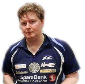 5. PLASS: Lars la 26 spillere bak seg i Herrer D i Trondheim Open.