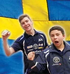SVENSKTOPPAR: Anders og Tim er på gang!
