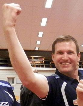 MATCHVINNER: Terje Herting snudde 0-1 til 3-1 i den siste kampen mot Vikåsen.