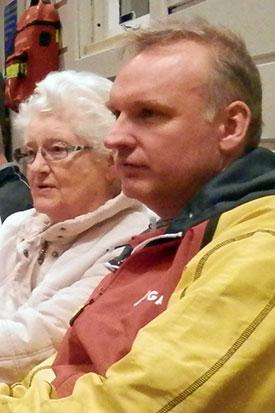 LOKAL TILKNYTNING: Victor Horgens mor Solveig bor på Jevnaker.