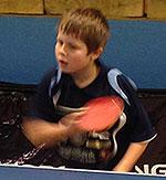 1. PLASS: Martin Jensen (8) var best av alle i Gutter 9. (FOTO: Lene Jensen)
