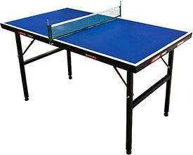 FØRSTEPREMIEN: Vinneren av D-rankingstevnet premieres med et midi-bordtennisbord med nett. Det er 135cm langt, 75cm bredt og 76cm høyt.