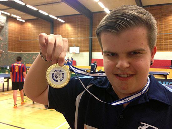 GODE MINNER: Thomas Moen vant en klasse i sin aller første Nordsø-cupdeltakelse!