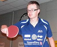 SVERIGE: Fredrik Wilkens er én av fem JBTK-utøvere som deltar i Kobra-cupen i Charlottenberg.