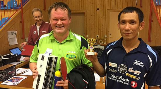 FINALISTER: Watchara Ek Chadkarn var skuffet etter finaletapet mot Kjetil Johnsen (Dal).