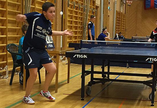 AMBISIØS: Jonas Jensen viste klasse og var svært nær enda bedre resultater. (FOTO: Lene Jensen)