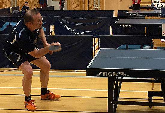 PÅ PALLEN: Thomas Møller oppnådde resultater som forventet. 3. plassen i Herrer veteran var som forventet.