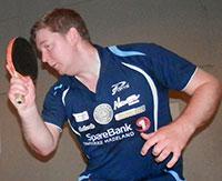 BERGEN I: Lars Torp representerer JBTK i Bergen HIL Open i Stemmemyrshallen.