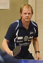 FØRSTESEEDET: Olof har flest rankingpoeng av deltakerne i Herrer C. Lever han opp til favorittstempelet?