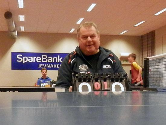 FLEST KAMPER: Bert Erixon deltok i 20 kamper - som dommer. Imponerende!