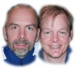 SEIER OG TAP: Joe og Olof vant og tapte i double.