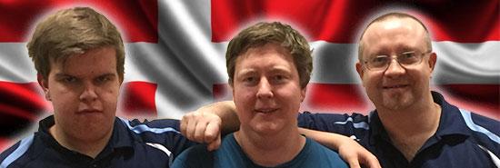 JBTK-DRENGE: Thomas Moen, Lars Torp og Thomas Møller skal til Danmark.