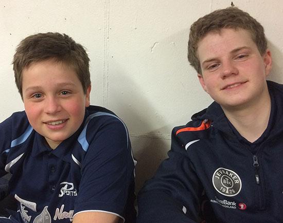 PÅ LEIR FOR Å LÆRE: Jonas og Daniel kan se fram til en lærerik uke på Notodden!