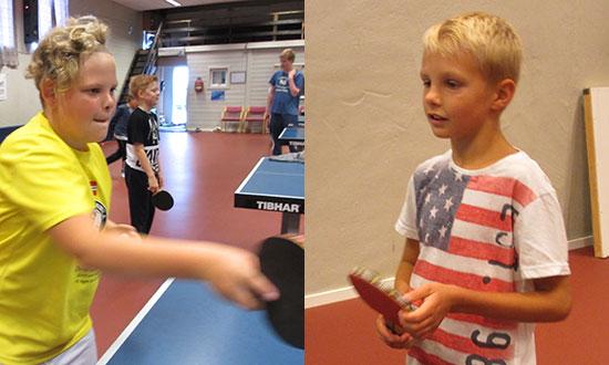 IVRIG DUO: To av deltakerne i aksjon. (Alle foto: Lene Jensen)