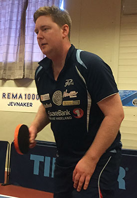 JOKER I NORD: Lars Torp vet hva som skal til for å oppnå resultater. I helgen konkurrerer han for aller første gang i Bodø.