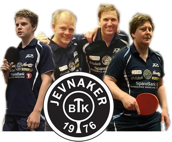 FIRERBANDEN: Daniel, Olof, Terje og Lars representerer JBTK i Oslo kommende helg!
