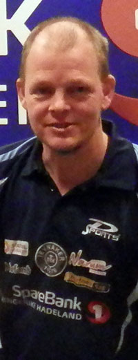 5. PLASS: Olof leverte solide resultater på veien til kvartfinalen i Herrer B.
