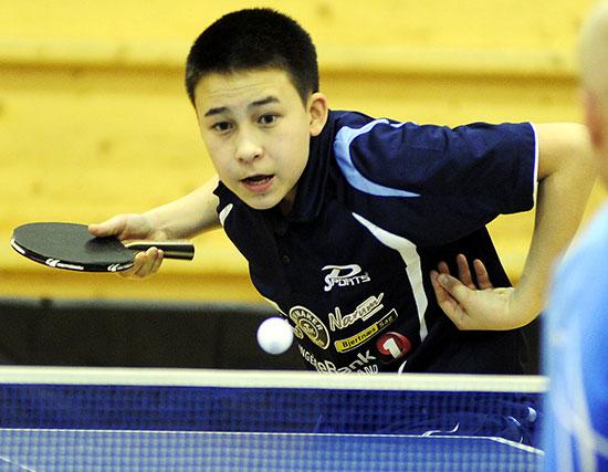 TIM-TIME: JBTKs unge stjerne vant Topp 12. (Foto: Jarle Mordal)
