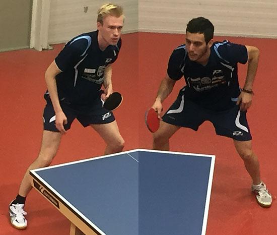 PANGSTARTET: Adam og Pedro startet med hver sin singleseier, men begge tapte resten av sine kamper.