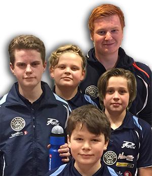 UT PÅ TUR: Fem JBTK-gutter skal delta på treningssamling på Lørenskog.
