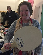 NY RACKET: Pia-Helen Fagerslett ønsker seg en slik racket!