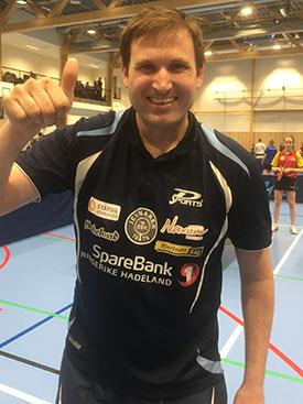 PÅ PALLEN: Terje Herting viste i dag at han fortsatt holder et høyt nivå. (Foto: Lene Jensen)