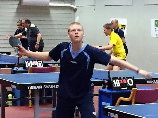 STJERNEN: Marlone levde opp til navnet og sikret seg stjernestatus i sesongens første turnering i Norge.